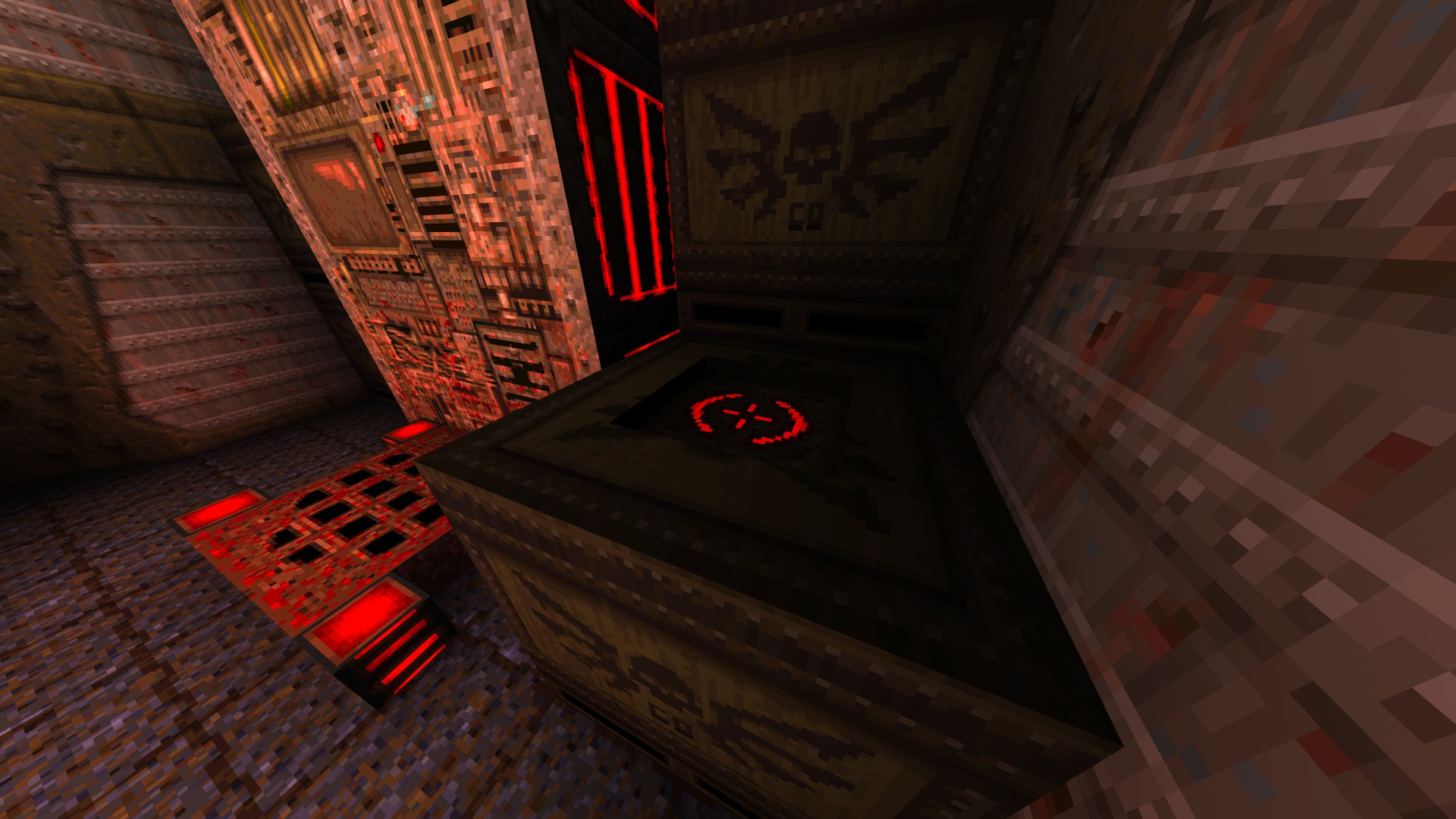Quake - Locations of All Secrets in Game Tips - E1: Fortress of the Dead - 8981A83