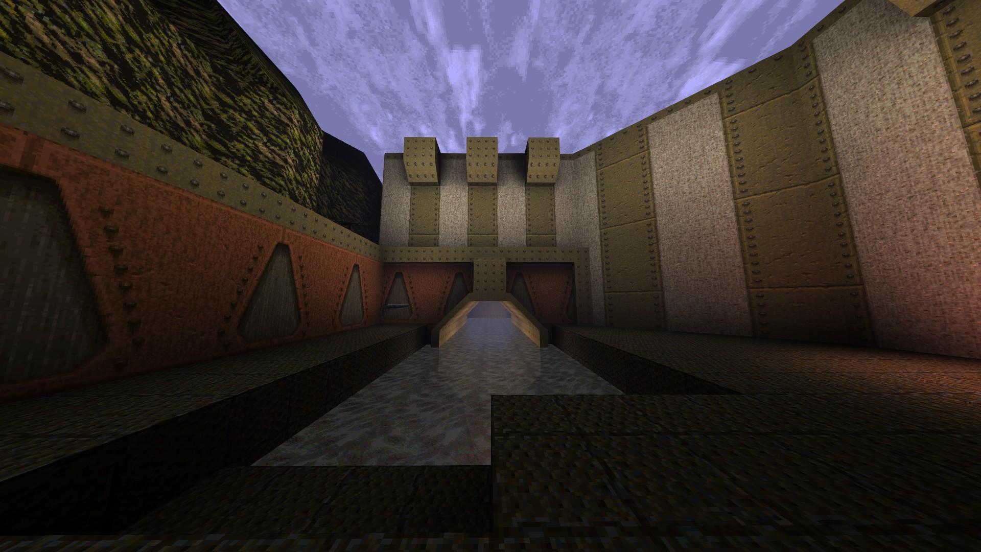 Quake - Locations of All Secrets in Game Tips - E1: Fortress of the Dead - 8DA43E3