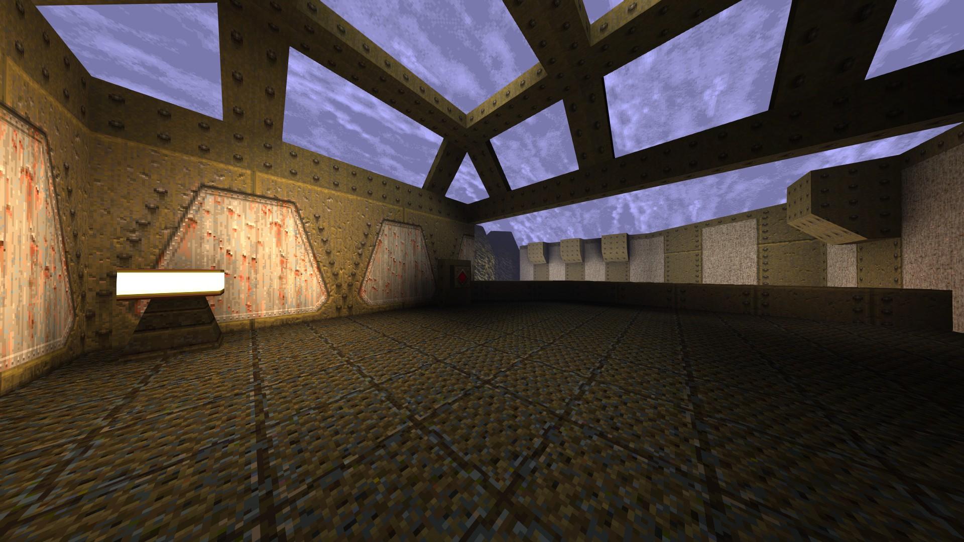 Quake - Locations of All Secrets in Game Tips - E1: Fortress of the Dead - E9619B2