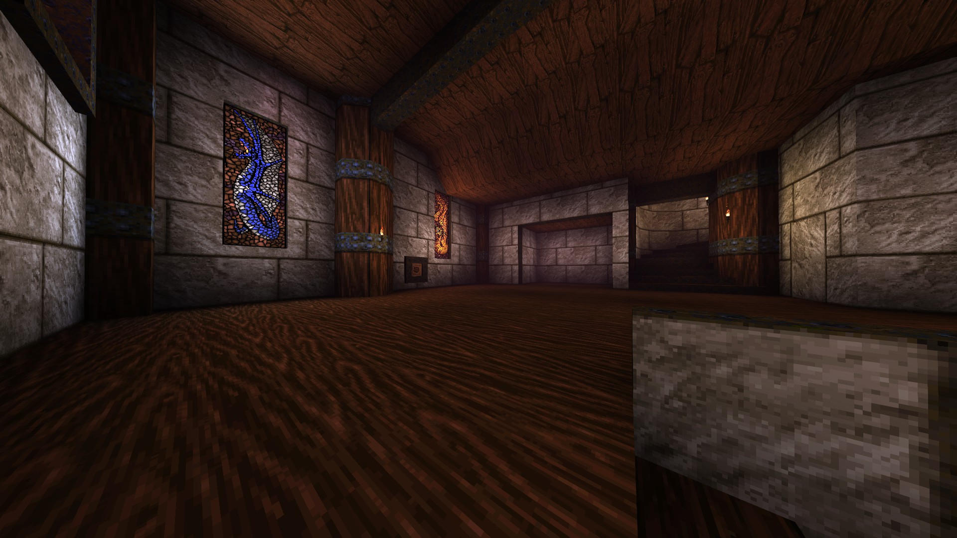 Quake - Locations of All Secrets in Game Tips - E2: Dominion of Darkness - Part I - 5EE4BCF