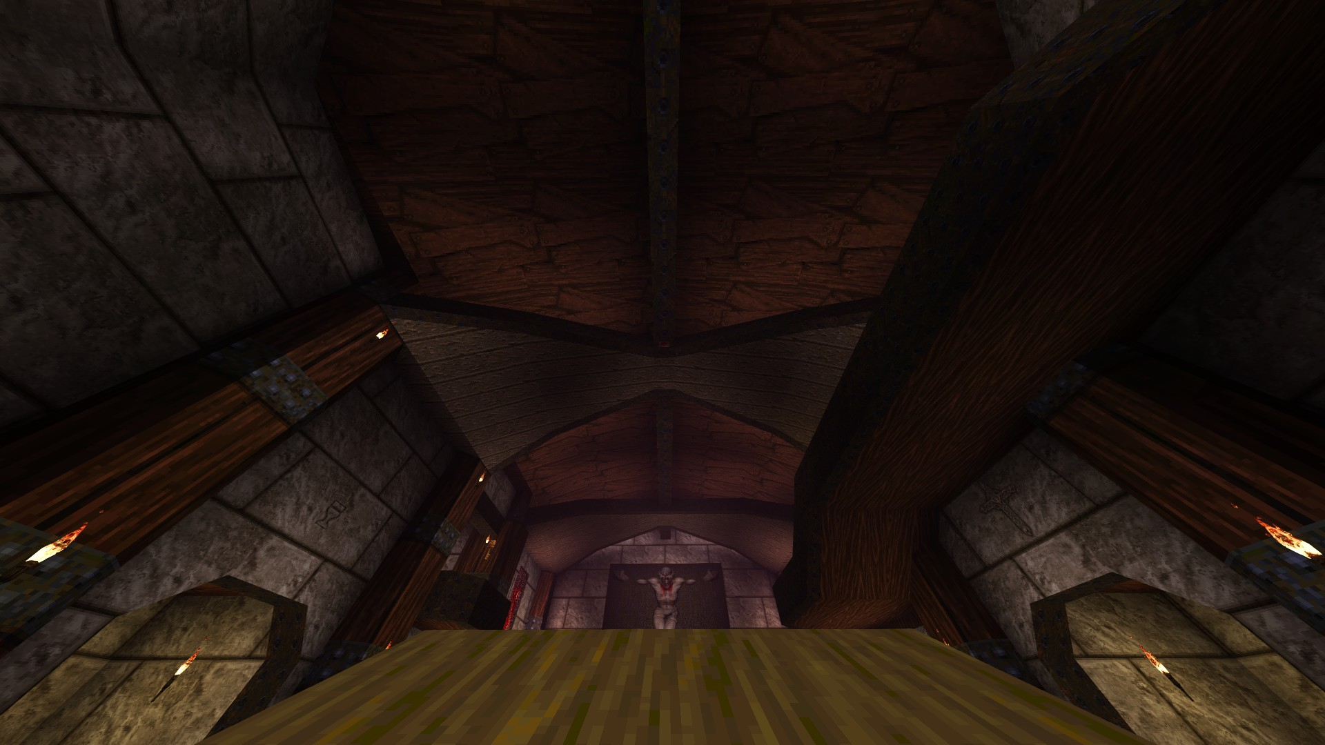 Quake - Locations of All Secrets in Game Tips - E2: Dominion of Darkness - Part I - 797638D