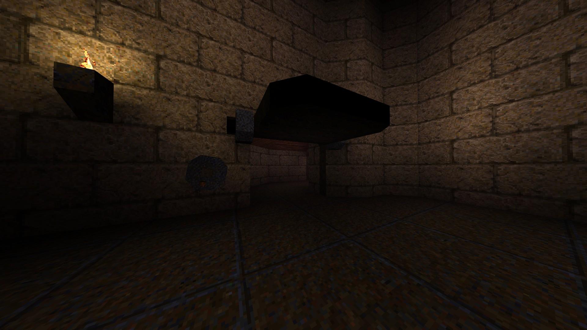 Quake - Locations of All Secrets in Game Tips - E2: Dominion of Darkness - Part I - 7A4152E