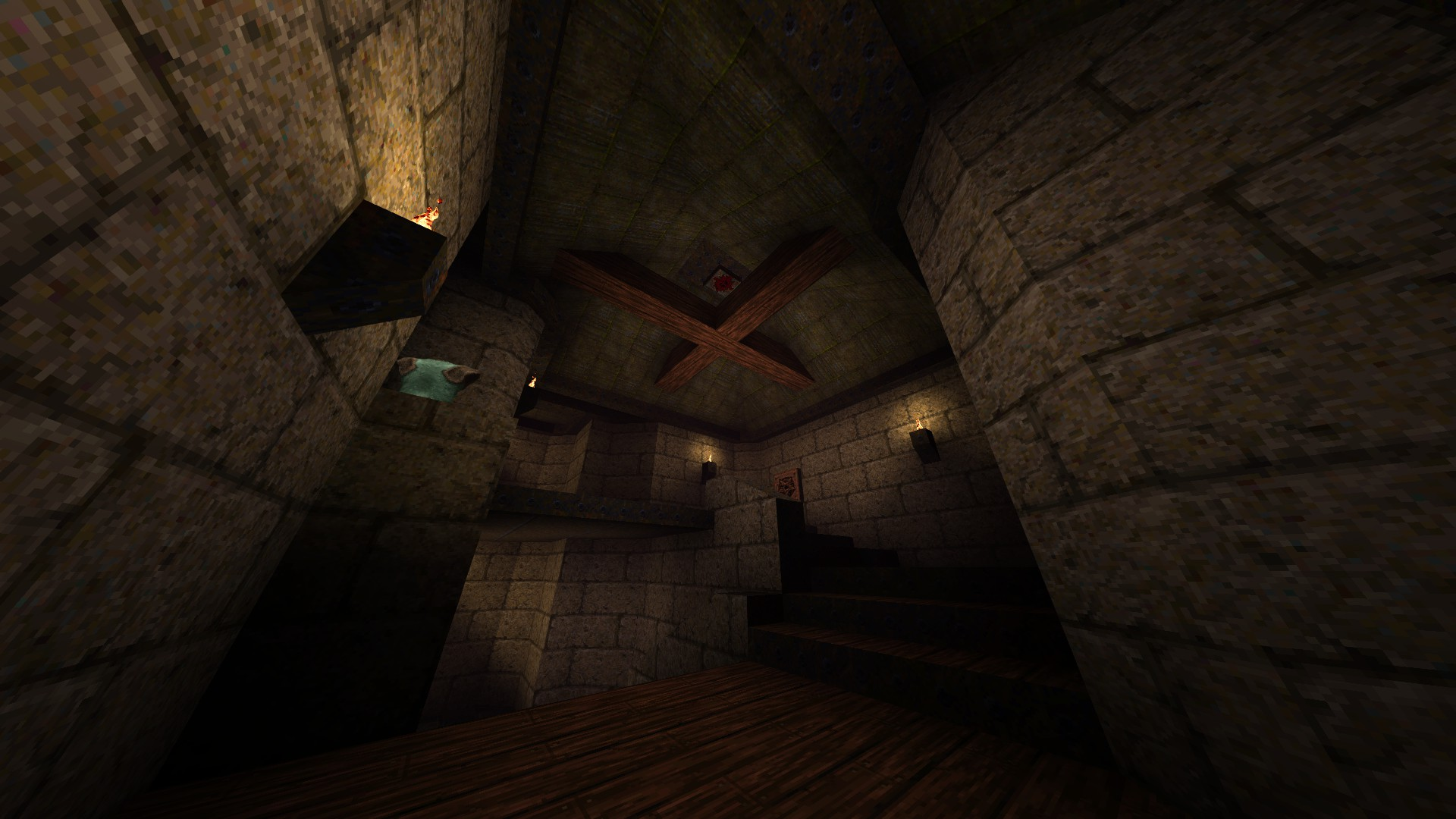 Quake - Locations of All Secrets in Game Tips - E2: Dominion of Darkness - Part I - 8F4EBBE