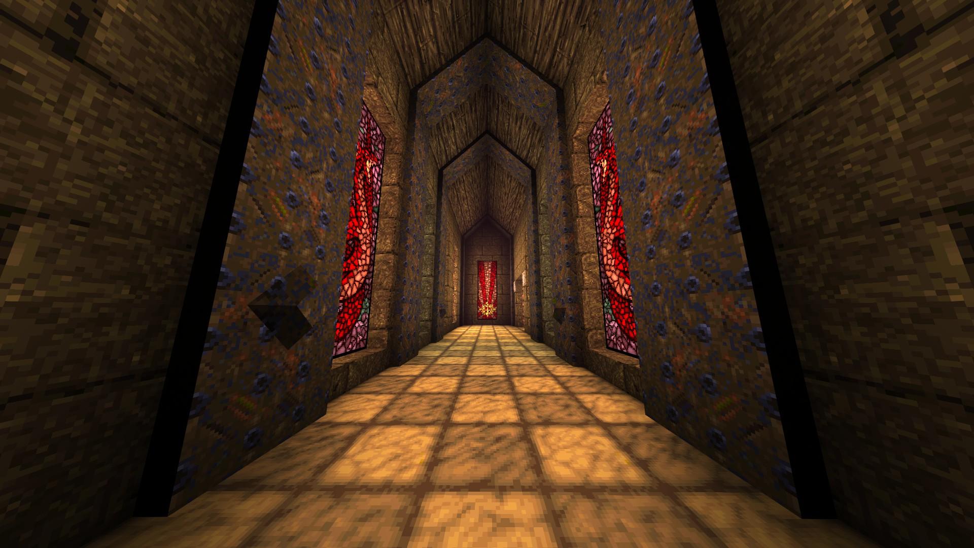 Quake - Locations of All Secrets in Game Tips - E2: Dominion of Darkness - Part I - 96C3E87