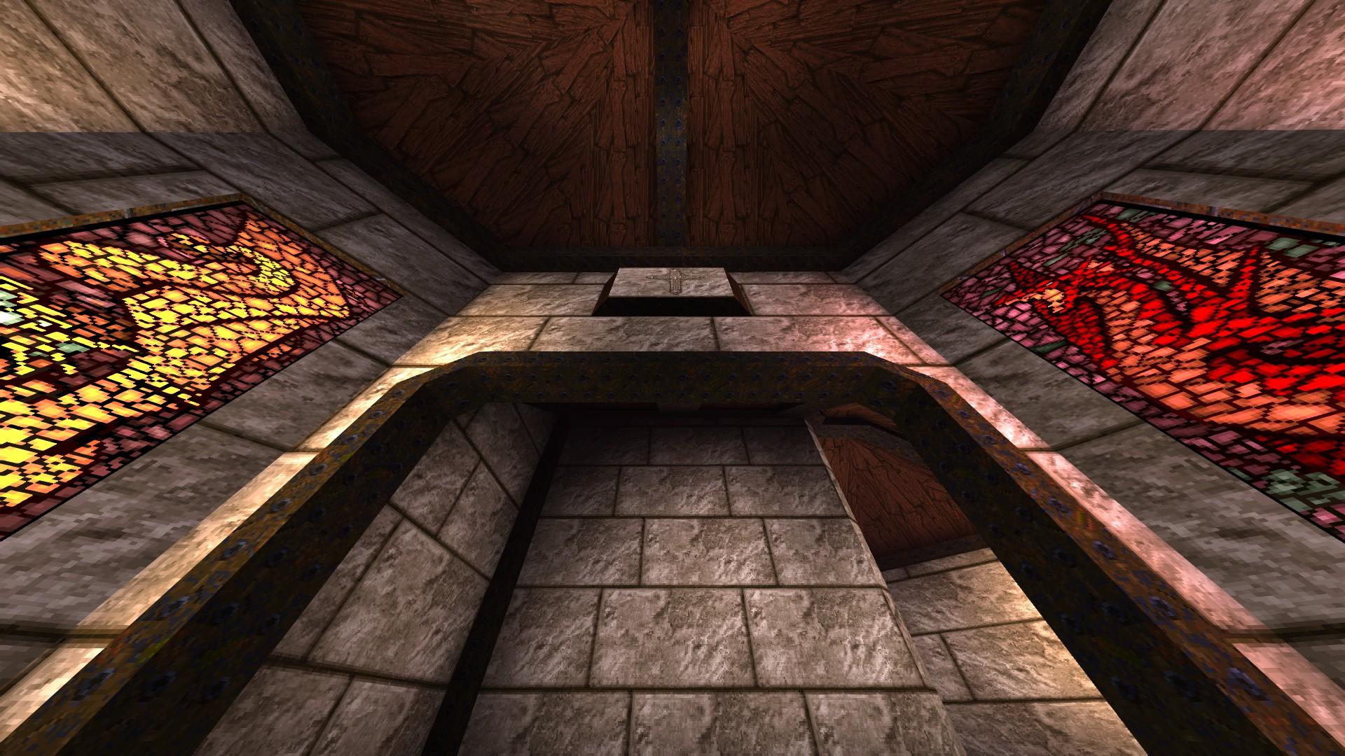 Quake - Locations of All Secrets in Game Tips - E2: Dominion of Darkness - Part I - F93E828