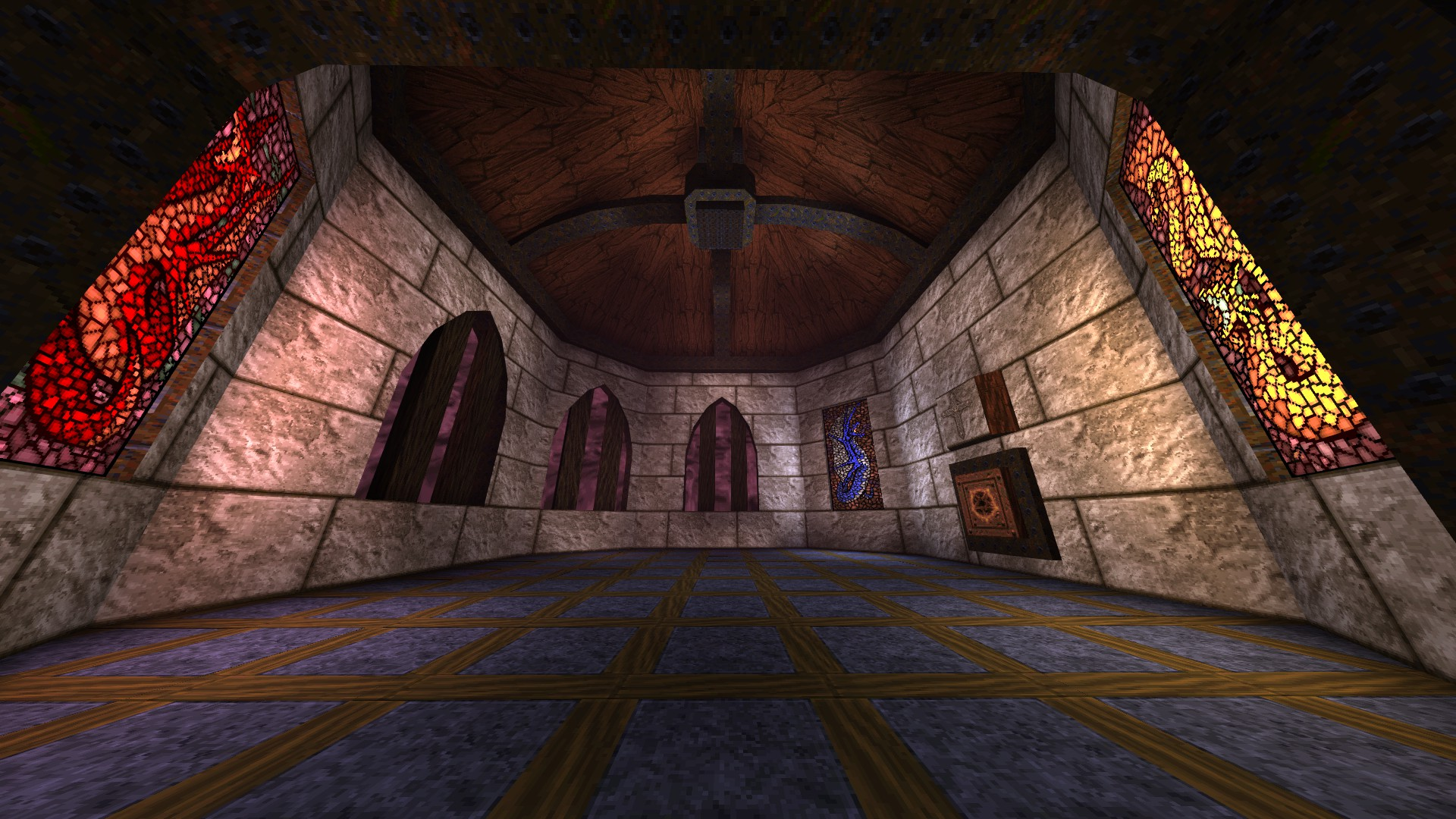 Quake - Locations of All Secrets in Game Tips - E2: Dominion of Darkness - Part I - FCCD72C