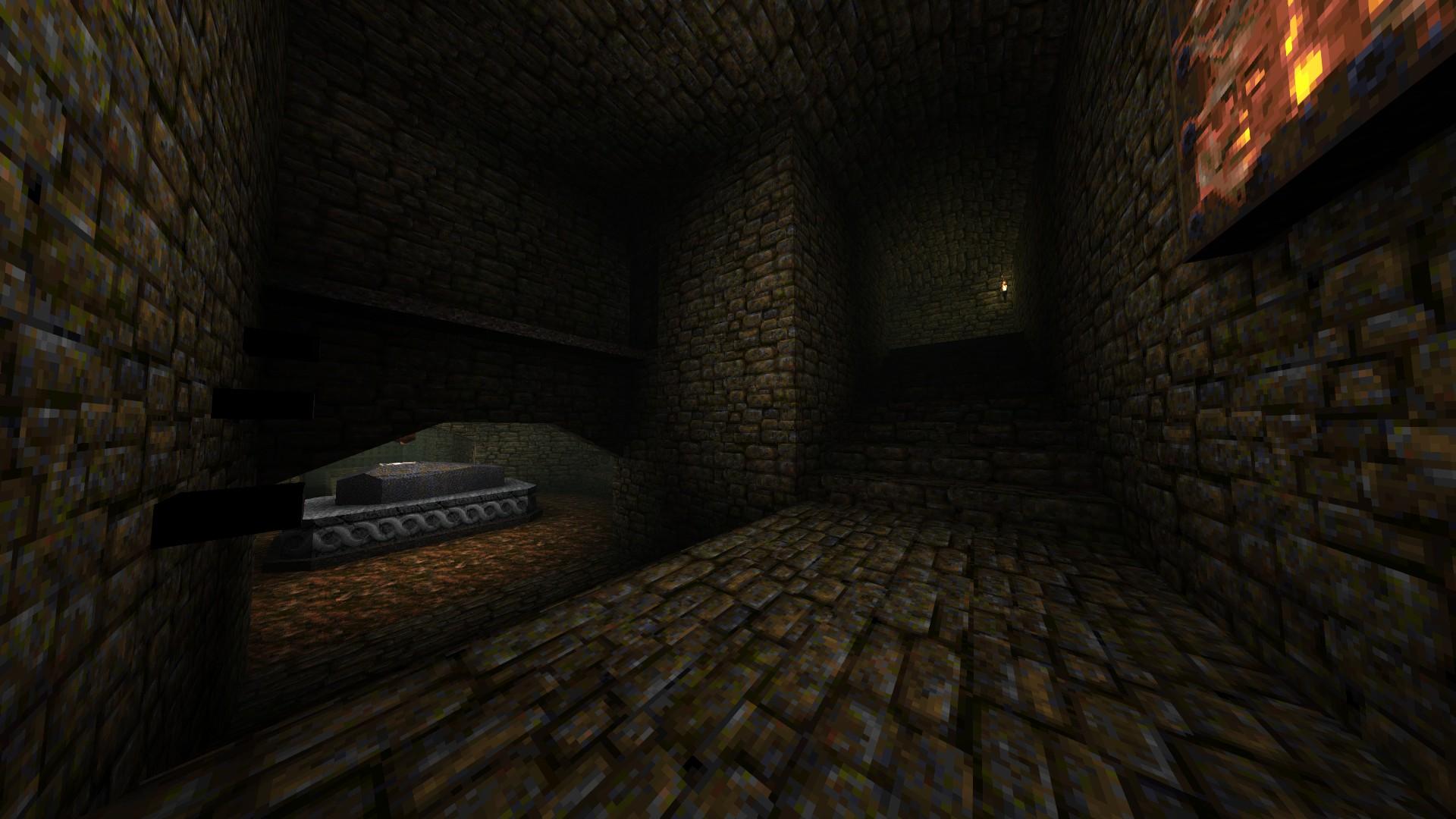 Quake - Locations of All Secrets in Game Tips - E2: Dominion of Darkness - Part II - 0F335DD