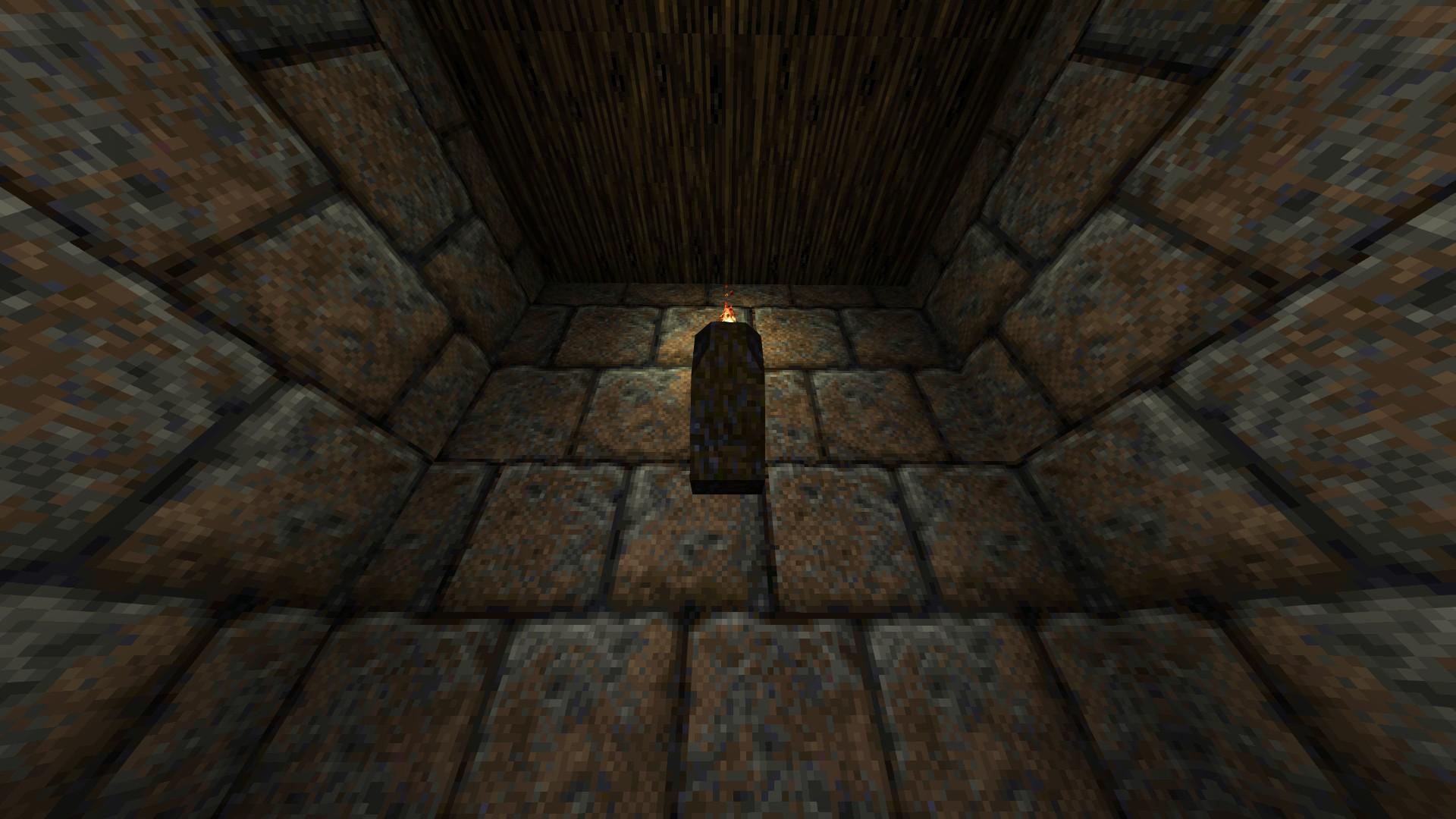 Quake - Locations of All Secrets in Game Tips - E2: Dominion of Darkness - Part II - 1F0CB89