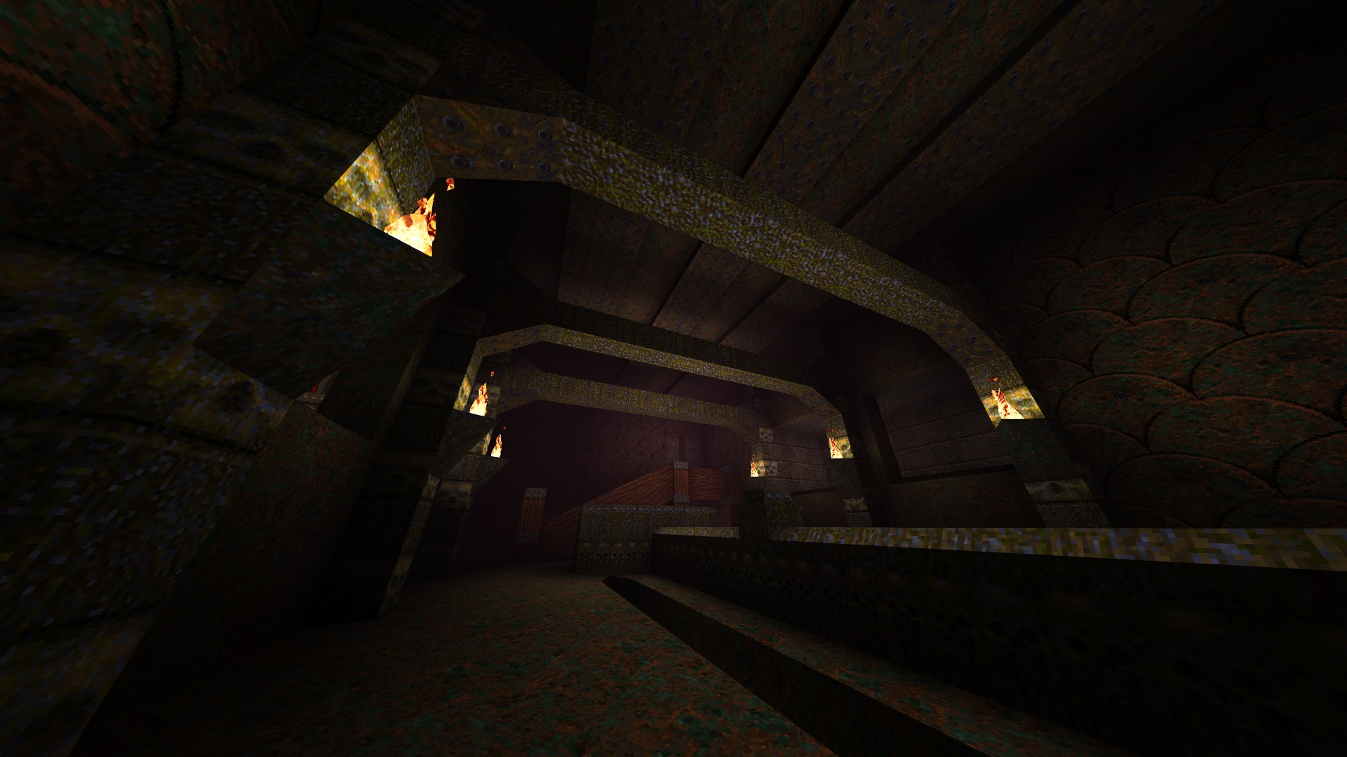 Quake - Locations of All Secrets in Game Tips - E2: Dominion of Darkness - Part II - 20B3CE3