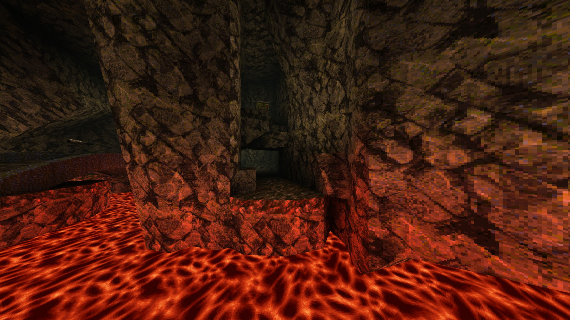 Quake - Locations of All Secrets in Game Tips - E2: Dominion of Darkness - Part II - 2D7F0B9