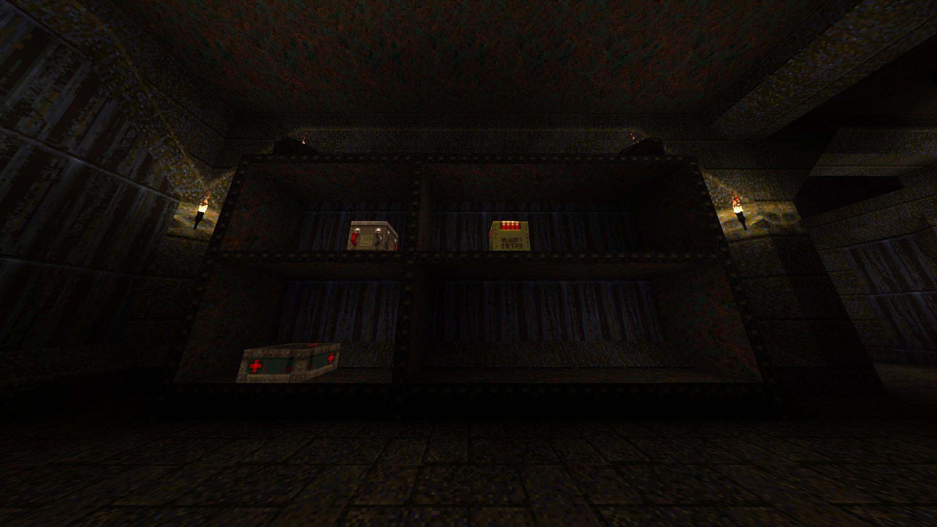 Quake - Locations of All Secrets in Game Tips - E2: Dominion of Darkness - Part II - 2F824E9
