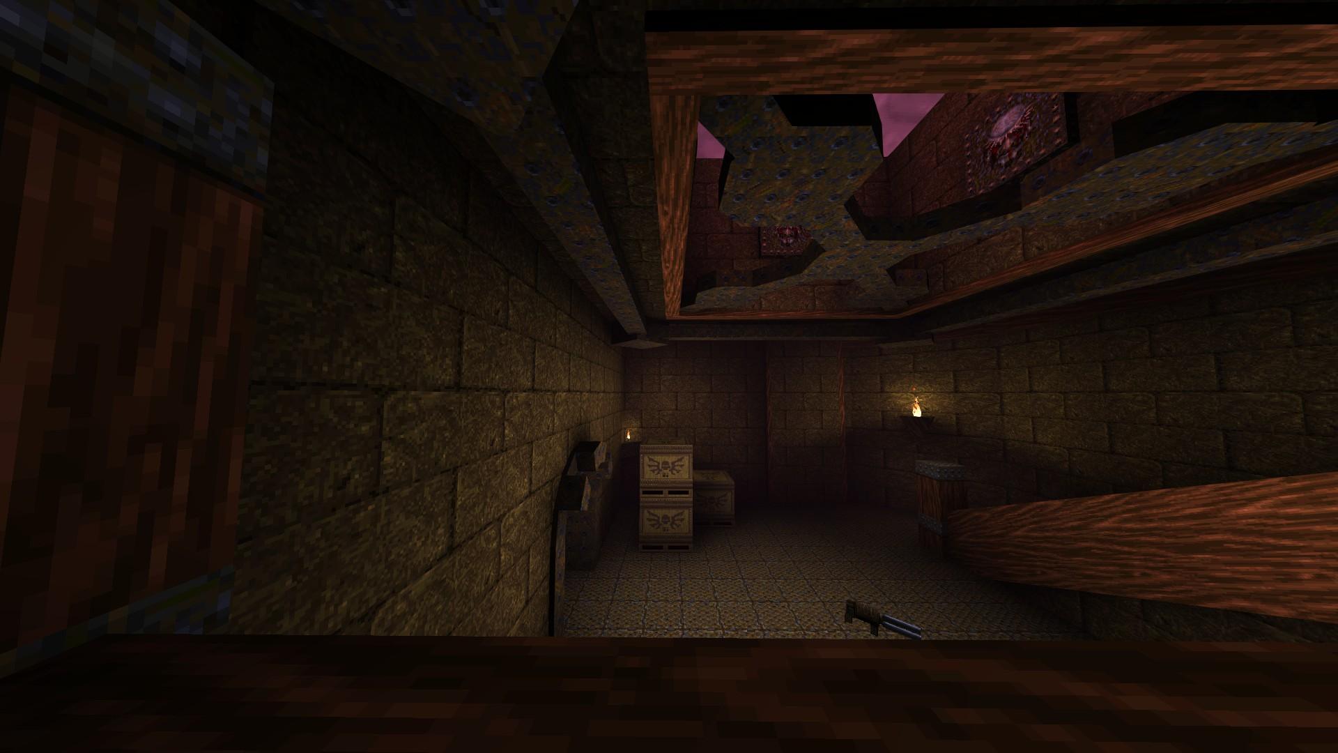 Quake - Locations of All Secrets in Game Tips - E2: Dominion of Darkness - Part II - 309B2E1