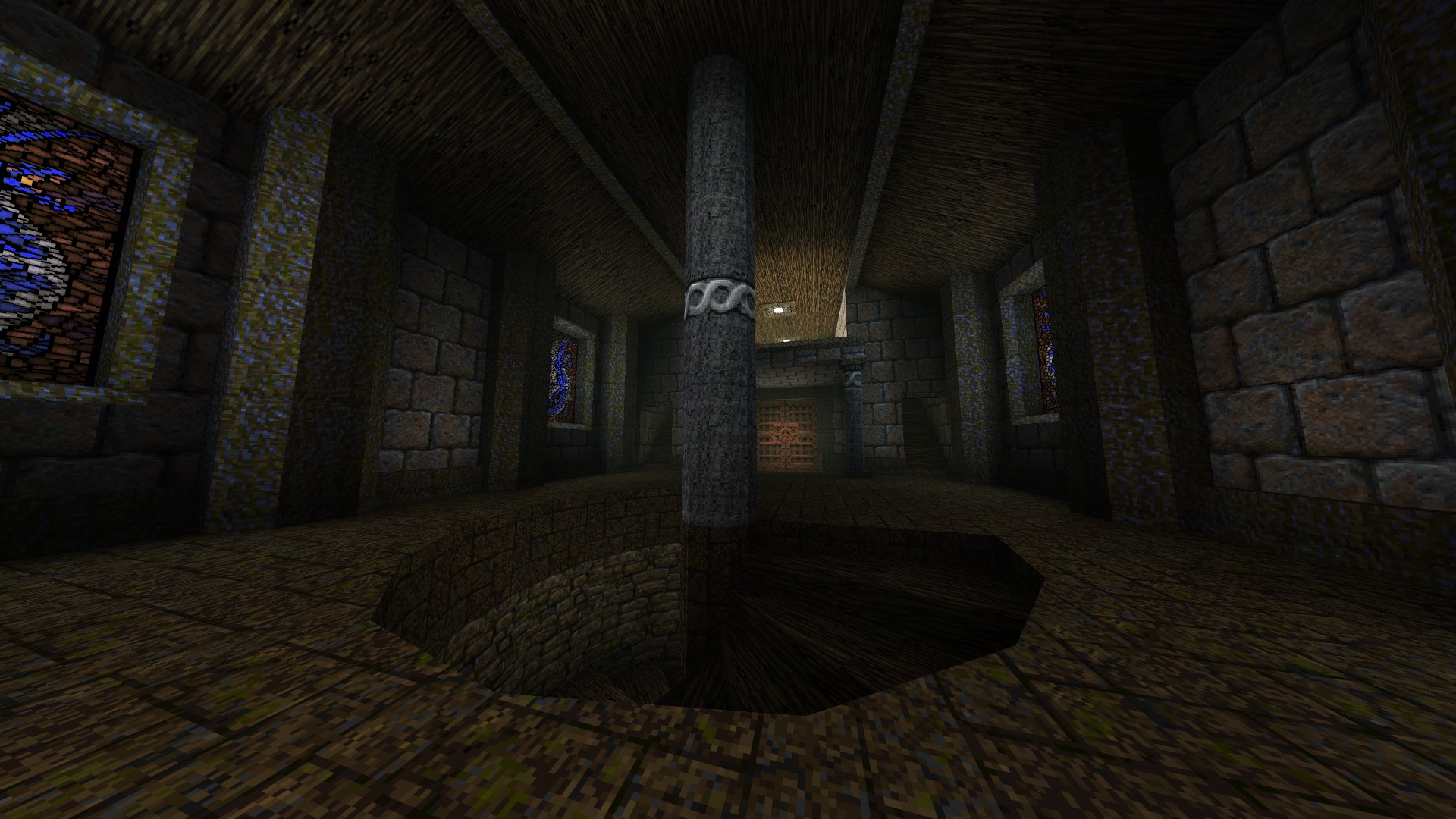 Quake - Locations of All Secrets in Game Tips - E2: Dominion of Darkness - Part II - 34DEB7D
