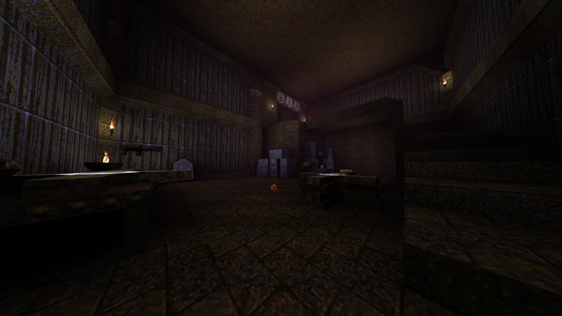 Quake - Locations of All Secrets in Game Tips - E2: Dominion of Darkness - Part II - 8E8ABA3