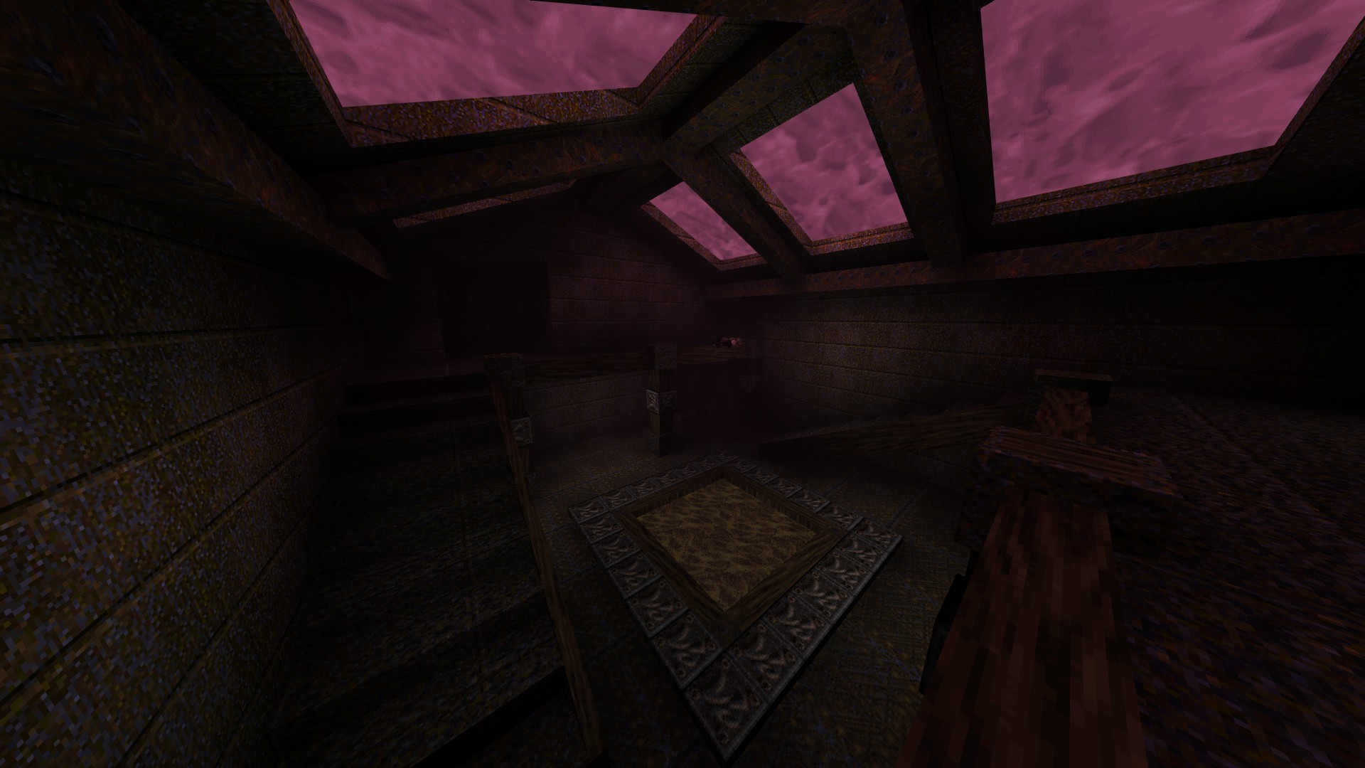 Quake - Locations of All Secrets in Game Tips - E2: Dominion of Darkness - Part II - A38FAAB