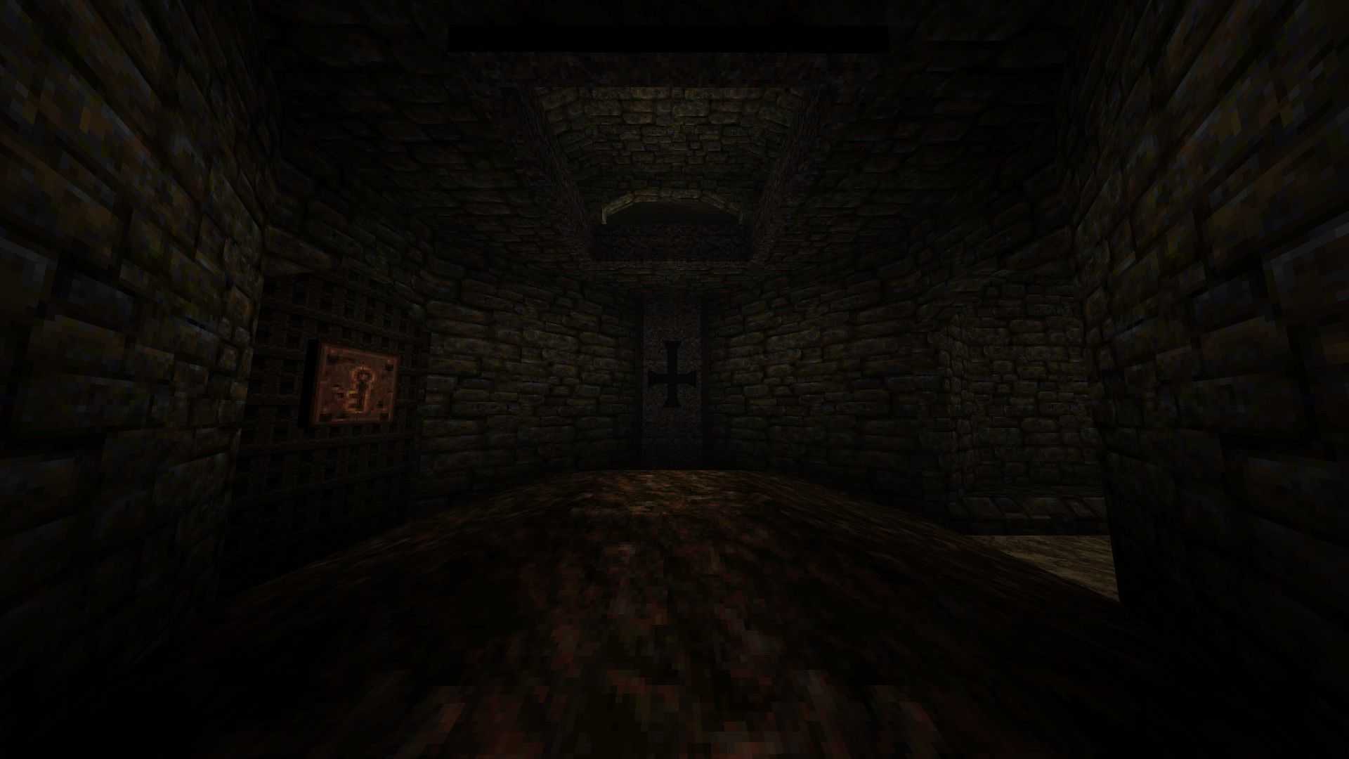 Quake - Locations of All Secrets in Game Tips - E2: Dominion of Darkness - Part II - A5DDD8C