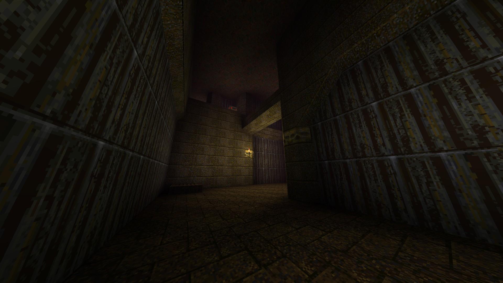 Quake - Locations of All Secrets in Game Tips - E2: Dominion of Darkness - Part II - CD4E11B