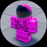 Roblox Aimblox - Badge Pink Impostor