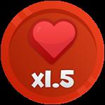 Roblox Battle Legends - Shop Item X1.5 Health