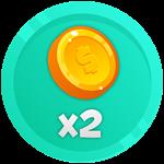 Roblox Battle Legends - Shop Item X2 Gold
