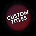 Roblox Boku No Roblox - Shop Item Custom Title