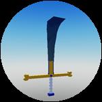 Roblox Myth Piece - Shop Item Black Sword