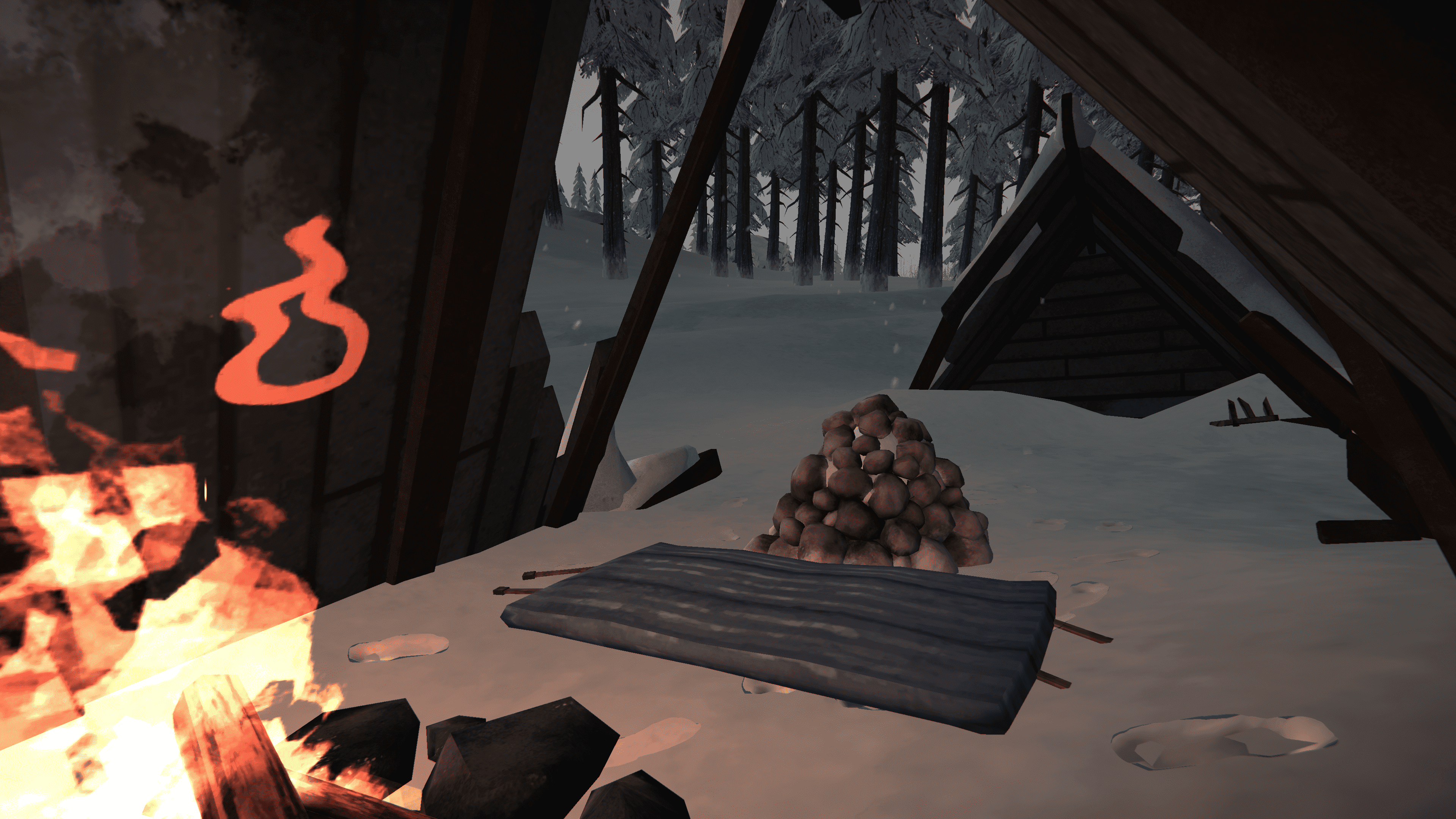 The Long Dark - Advanced rock cache placing + Top 5 caches per region - 2-Pleasant valley - 020750D