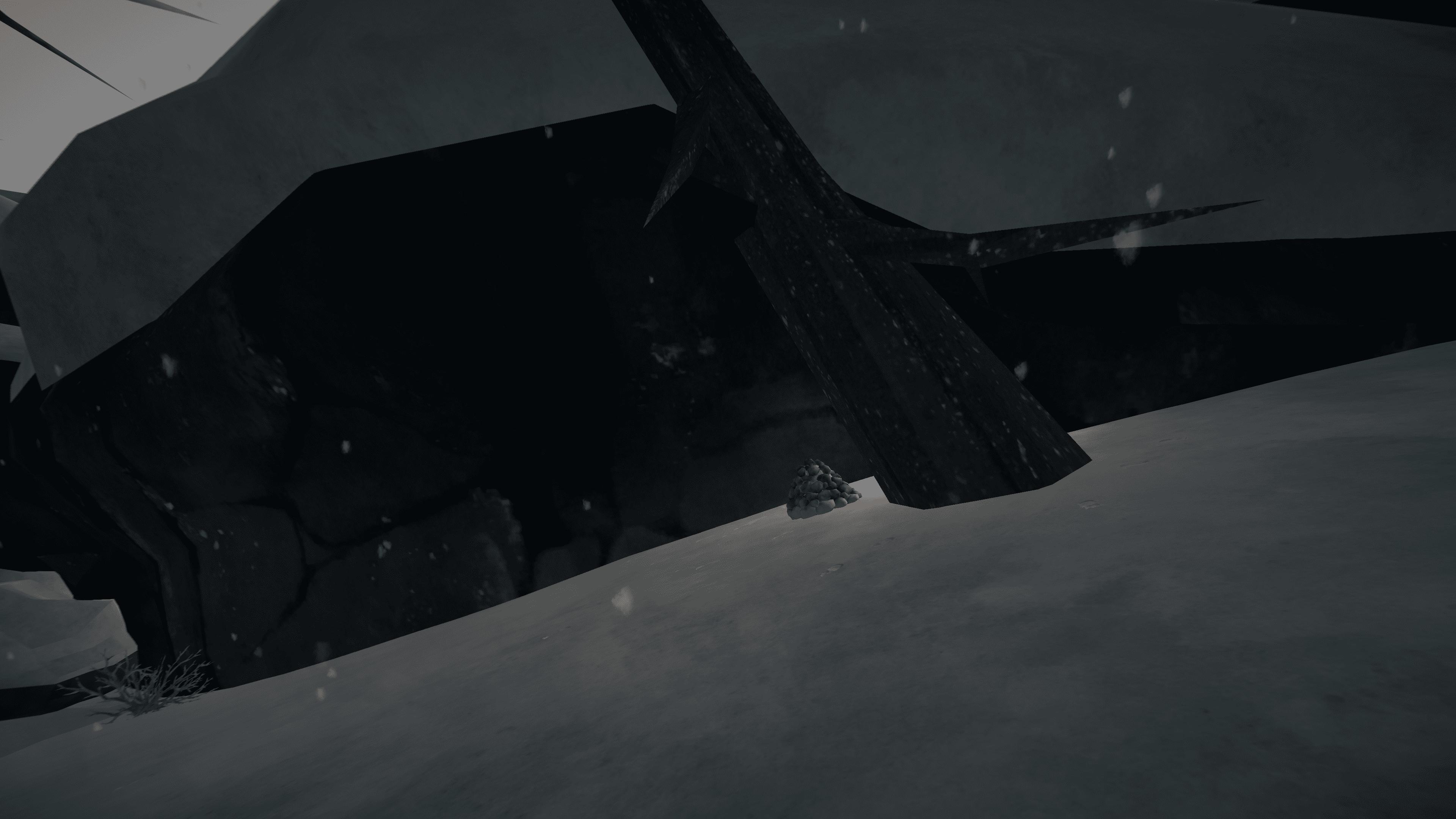 The Long Dark - Advanced rock cache placing + Top 5 caches per region - 5-Broken Railroad - CBF07FE