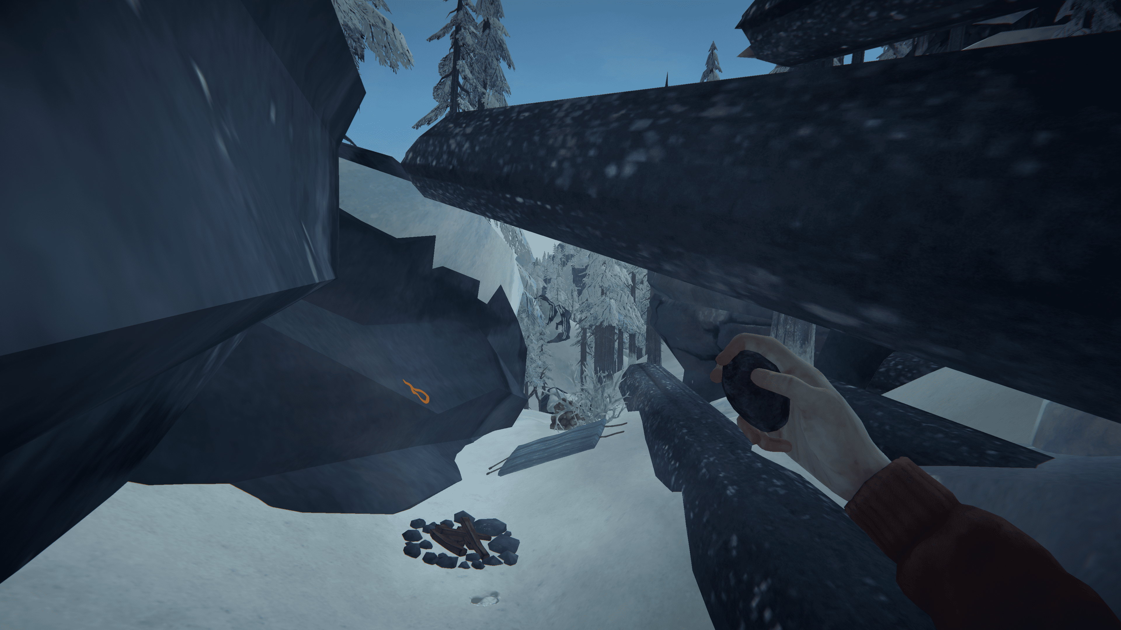 The Long Dark - Advanced rock cache placing + Top 5 caches per region - 9- Coastal Highway - AC98BED