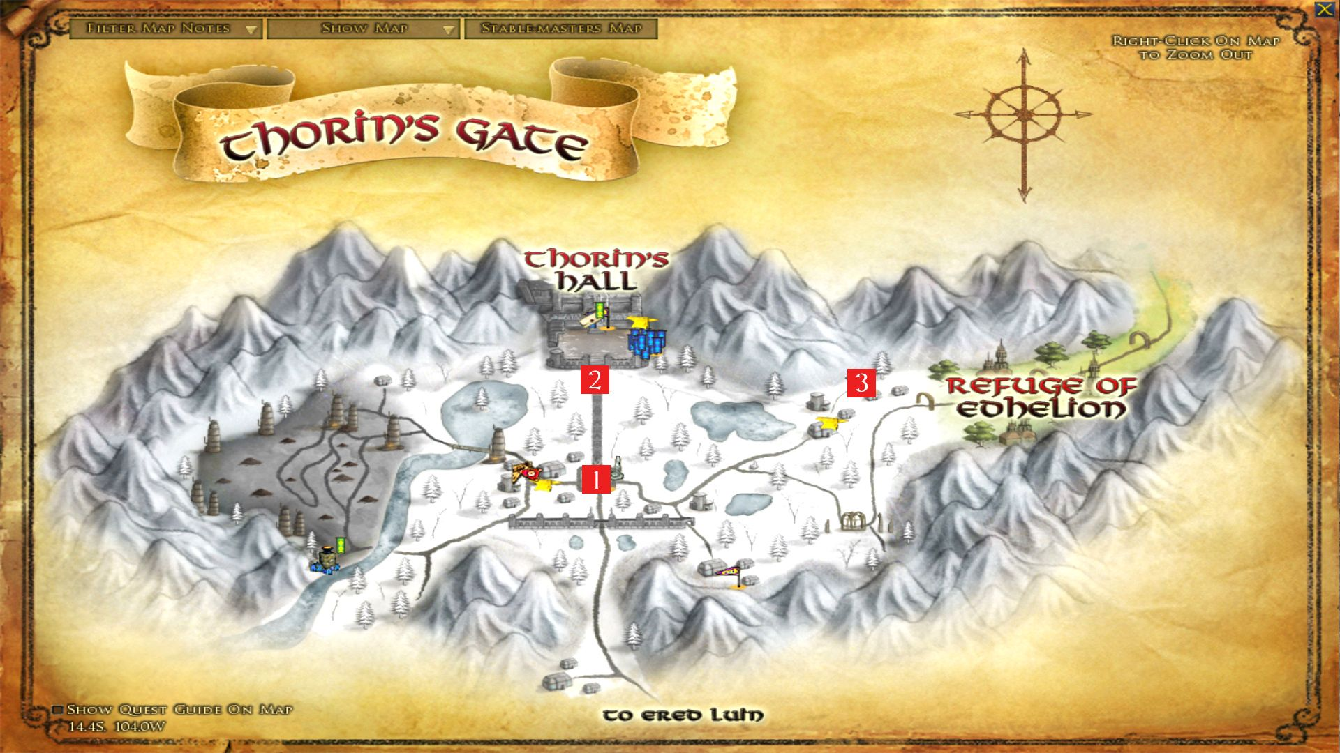 The Lord of the Rings Online™ - Condensed LOTRO Point Farm Guide - Part 2 - Ered Luin Part 1 - 4F48E29