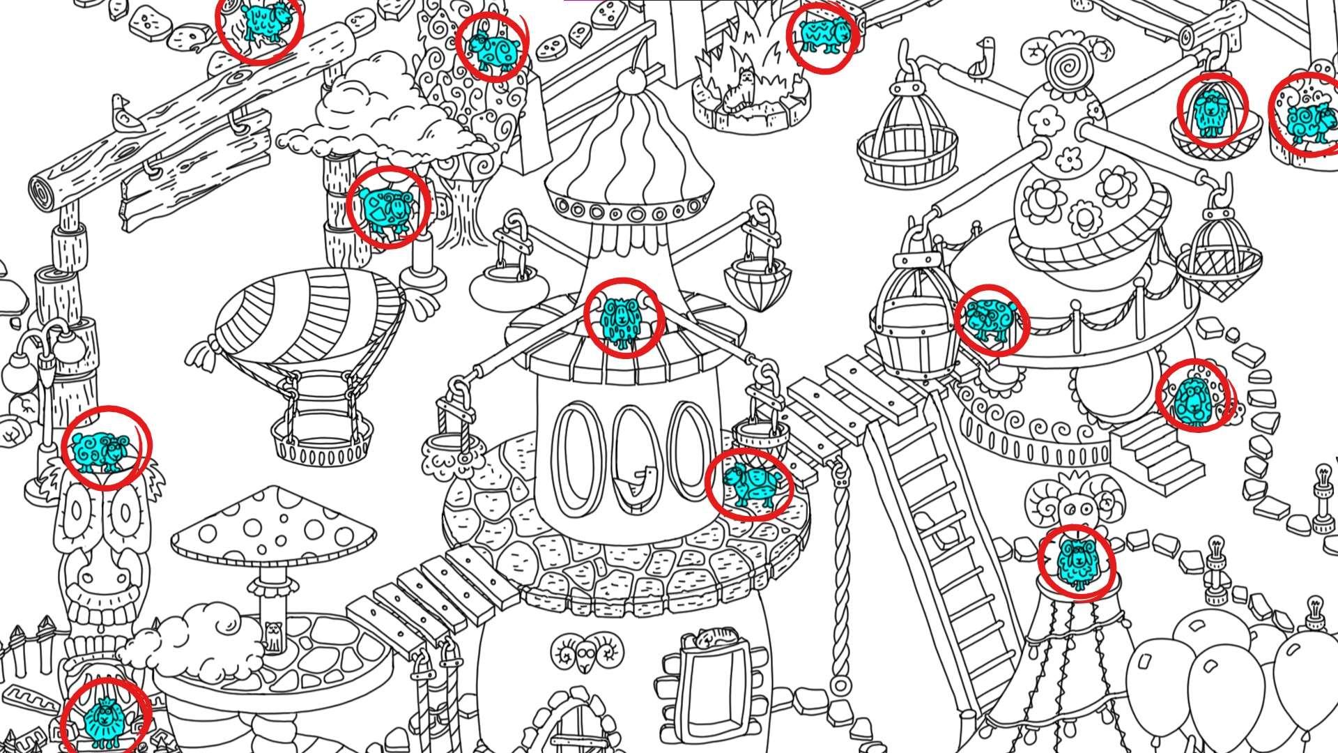 100 hidden rams - All Hidden Ram Location - Map Guide - all rams - 050FFDB
