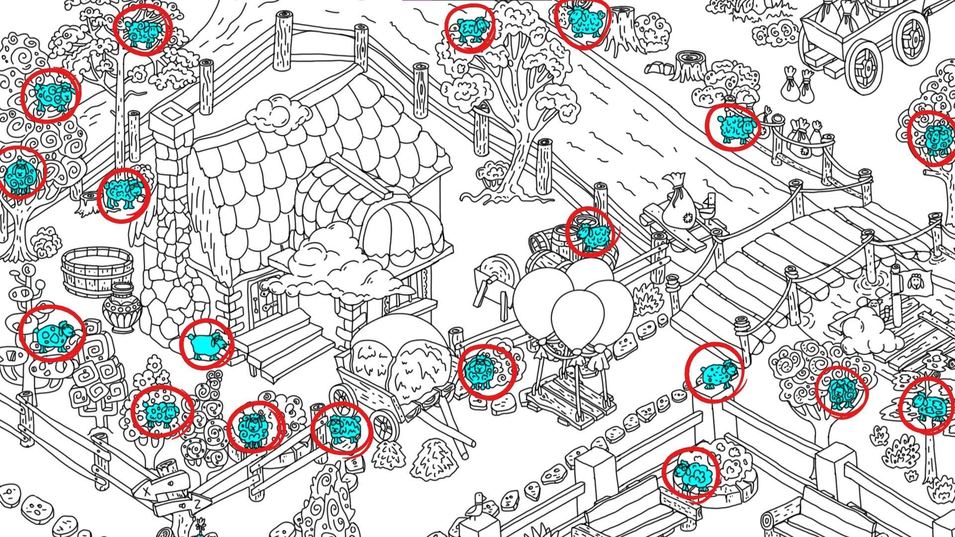 100 hidden rams - All Hidden Ram Location - Map Guide - all rams - 32565ED