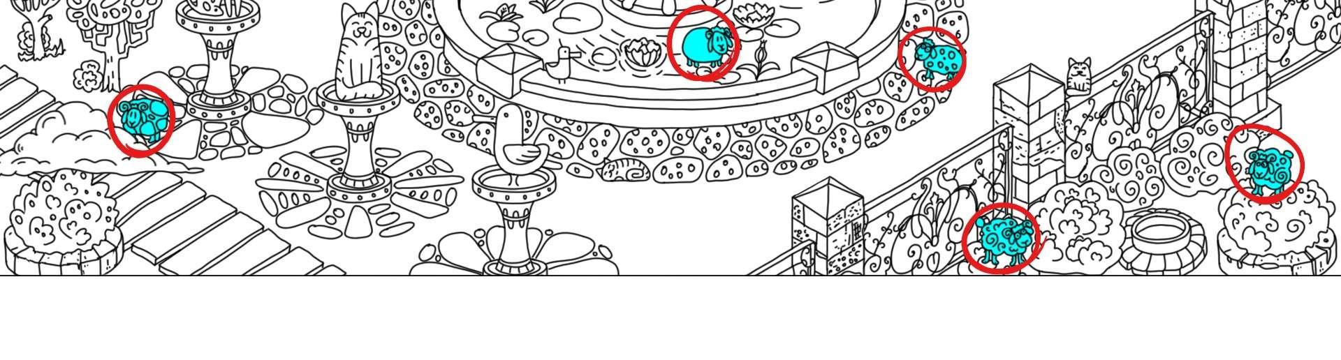 100 hidden rams - All Hidden Ram Location - Map Guide - all rams - B7F5EE4