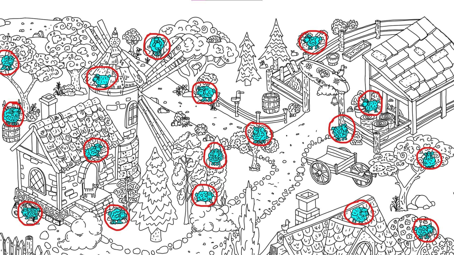 100 hidden rams - All Hidden Ram Location - Map Guide - all rams - BAD598A