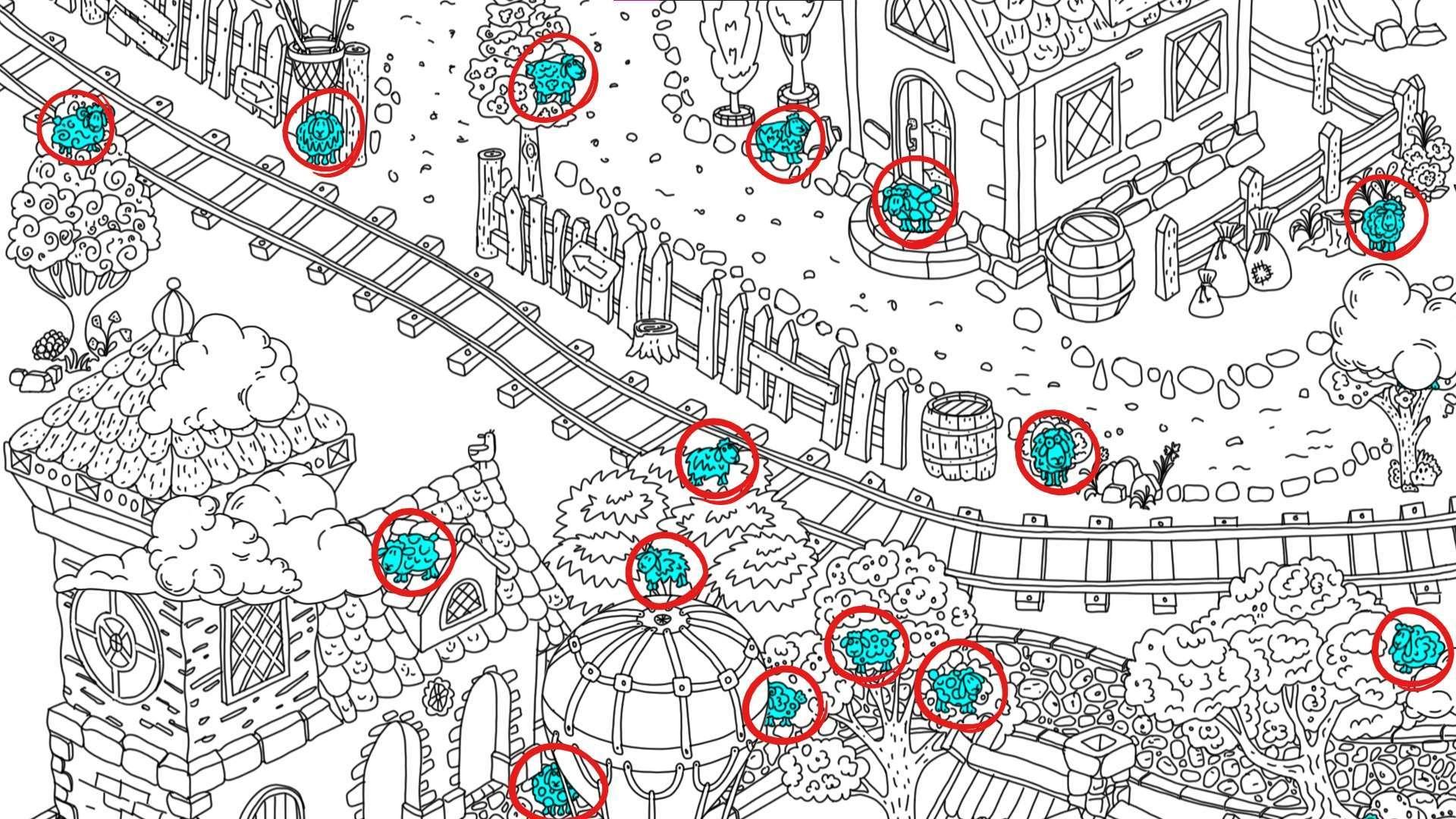 100 hidden rams - All Hidden Ram Location - Map Guide - all rams - EB5E408