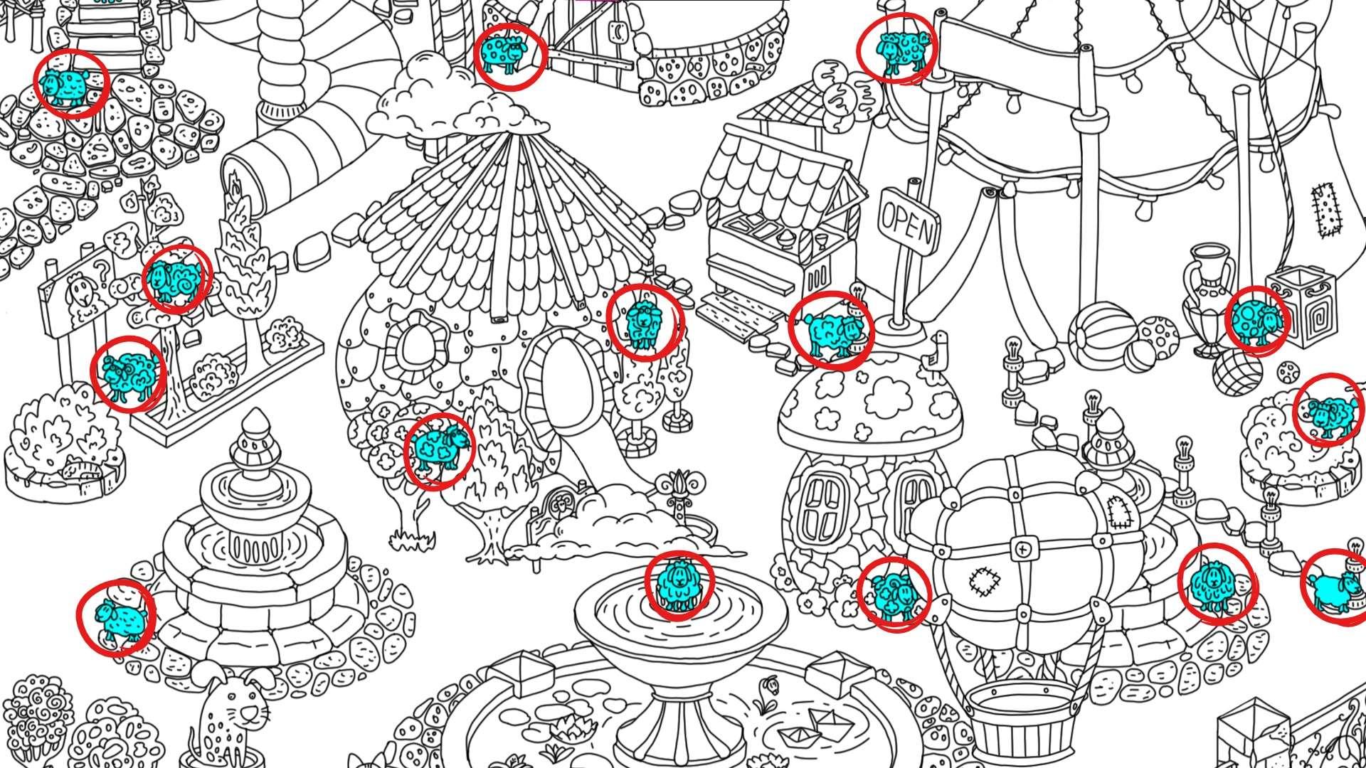 100 hidden rams - All Hidden Ram Location - Map Guide - all rams - F23E2A9
