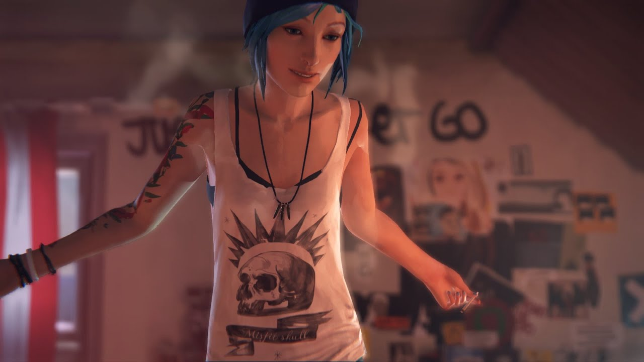 Life is Strange: True Colors - Guide to Easter Eggs in Game & Secrets - Chloe's shirt - 5215C05