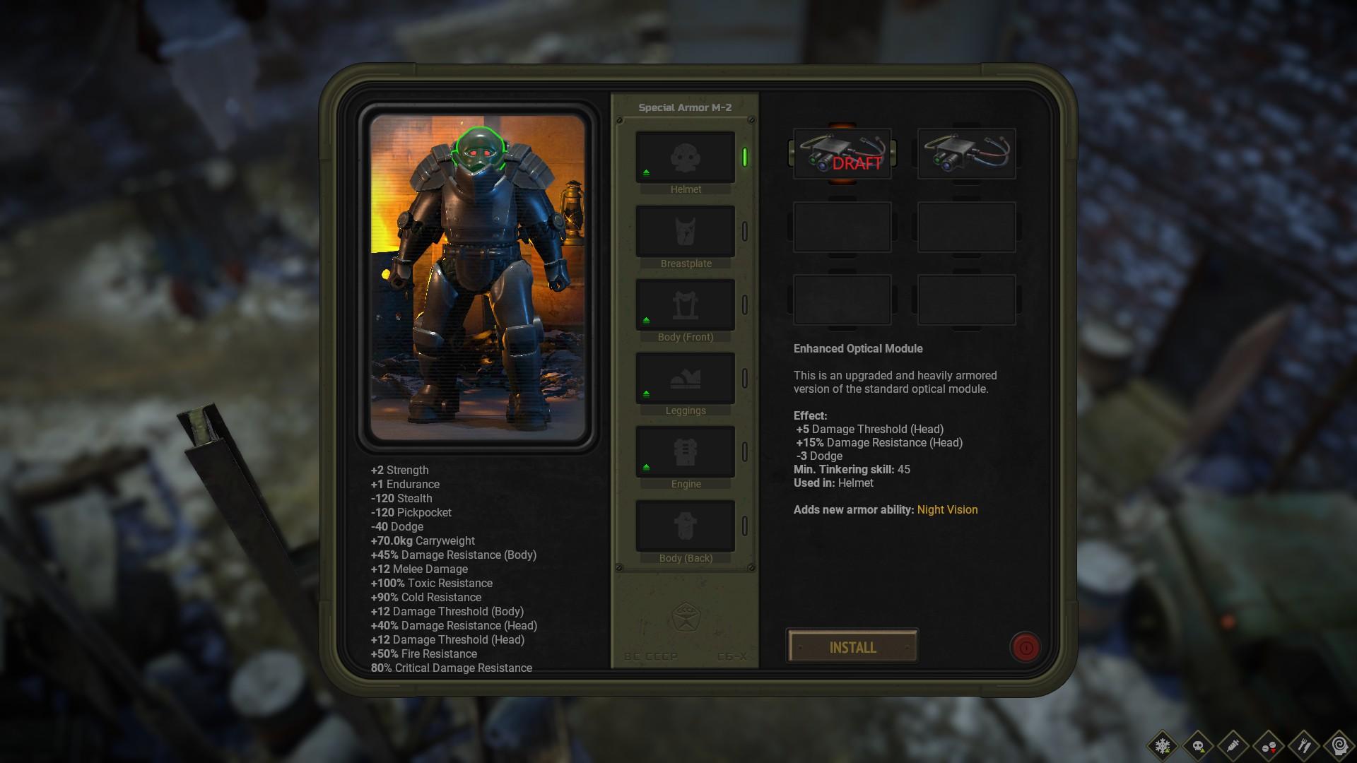 ATOM RPG Trudograd - Gameplay Tips & Walkthrough - Special Armor - 10DB25F