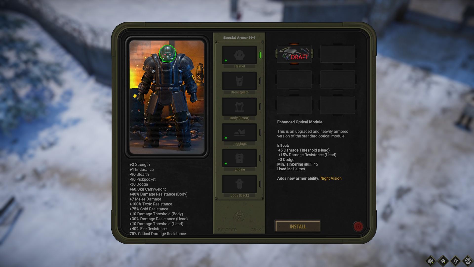 ATOM RPG Trudograd - Gameplay Tips & Walkthrough - Special Armor - 4ED352C