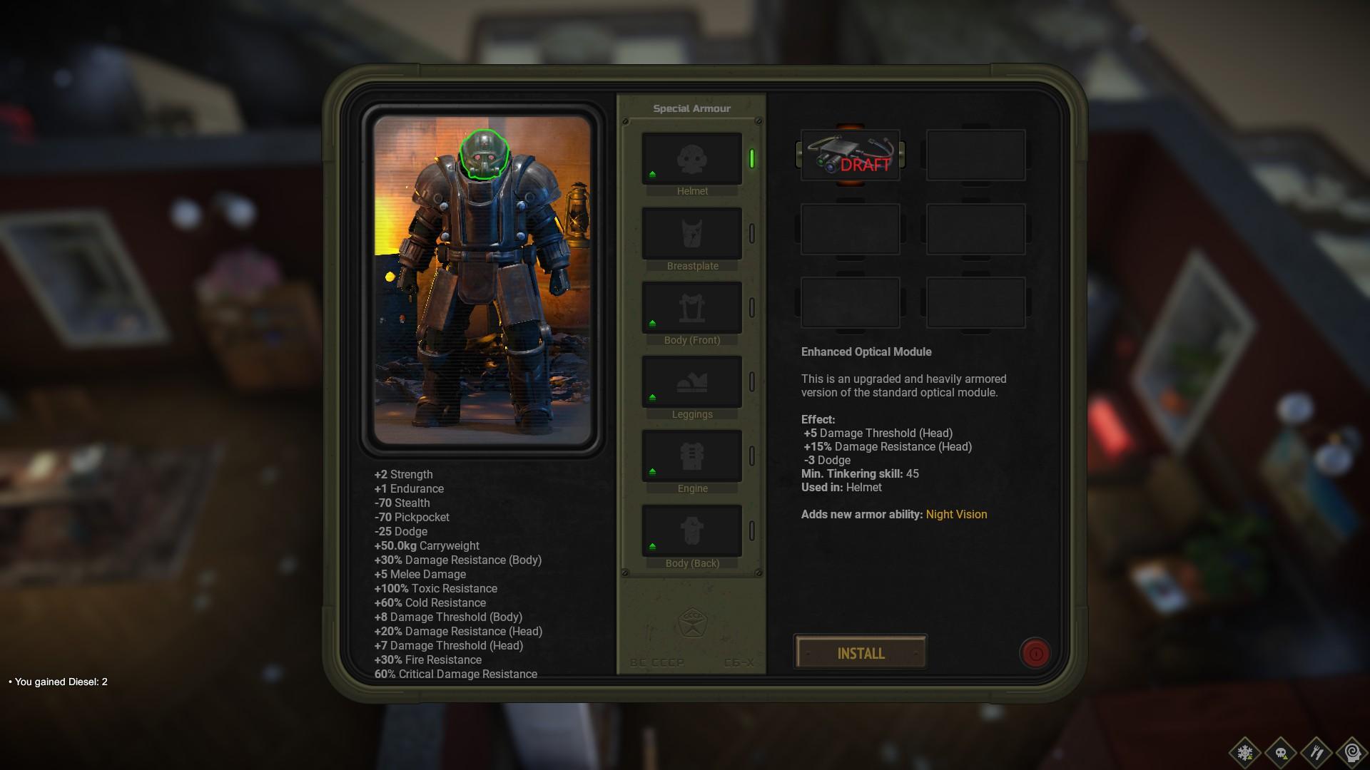 ATOM RPG Trudograd - Gameplay Tips & Walkthrough - Special Armor - 8D6C61F