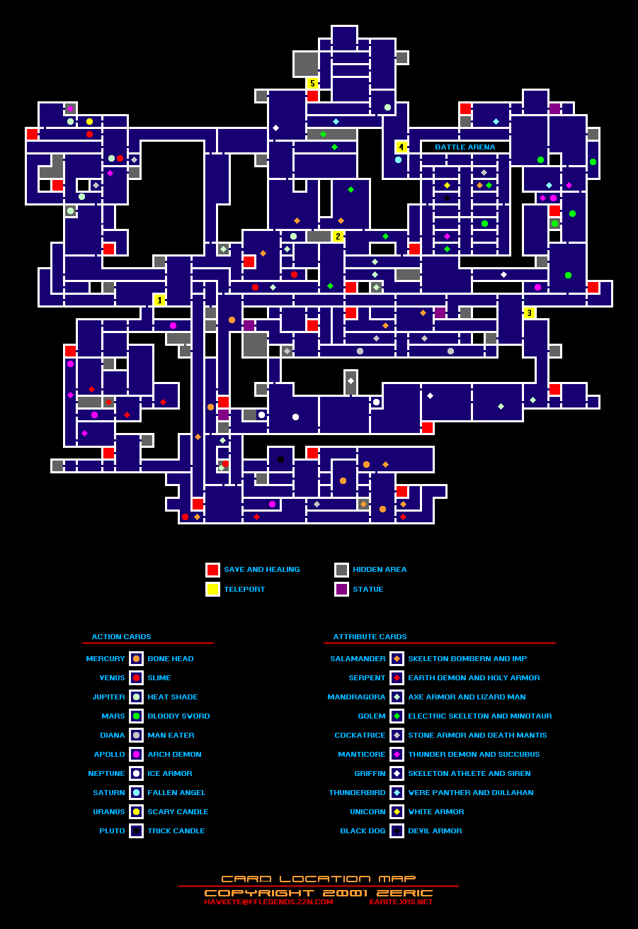 Castlevania Advance Collection - All Collectibles Locations Tips - Map Guide - Cards - 72956EB