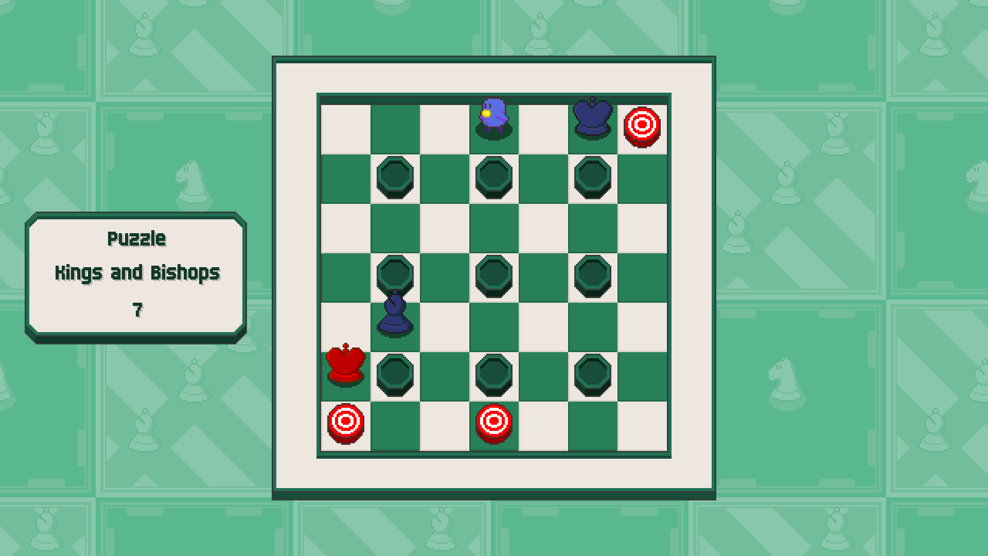 Chessplosion - Puzzle Solution Guide + Achievements Walkthrough - Advanced: Kings and Bishops - 0CB3B48