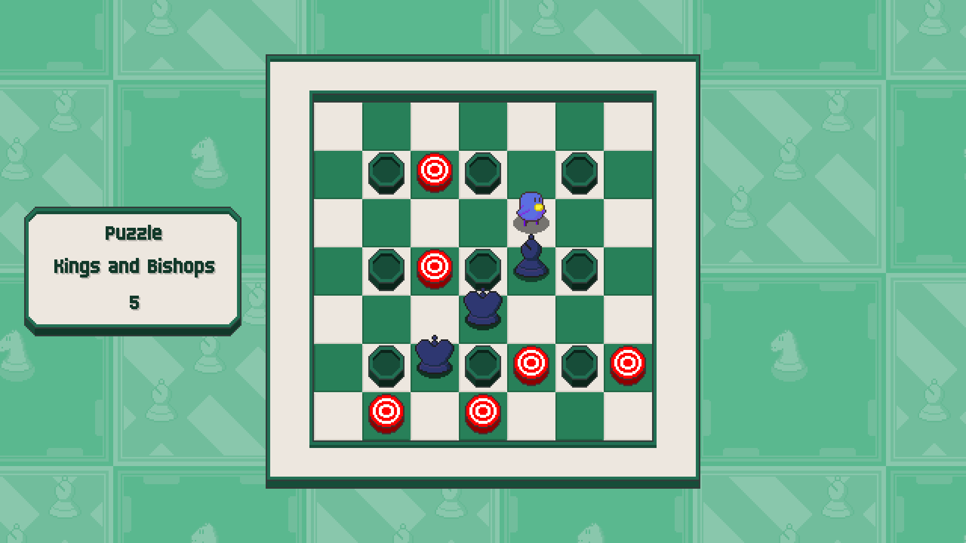 Chessplosion - Puzzle Solution Guide + Achievements Walkthrough - Advanced: Kings and Bishops - 6F0637B