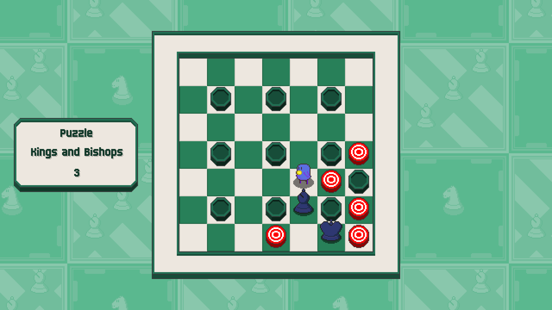 Chessplosion - Puzzle Solution Guide + Achievements Walkthrough - Advanced: Kings and Bishops - 9D1B160