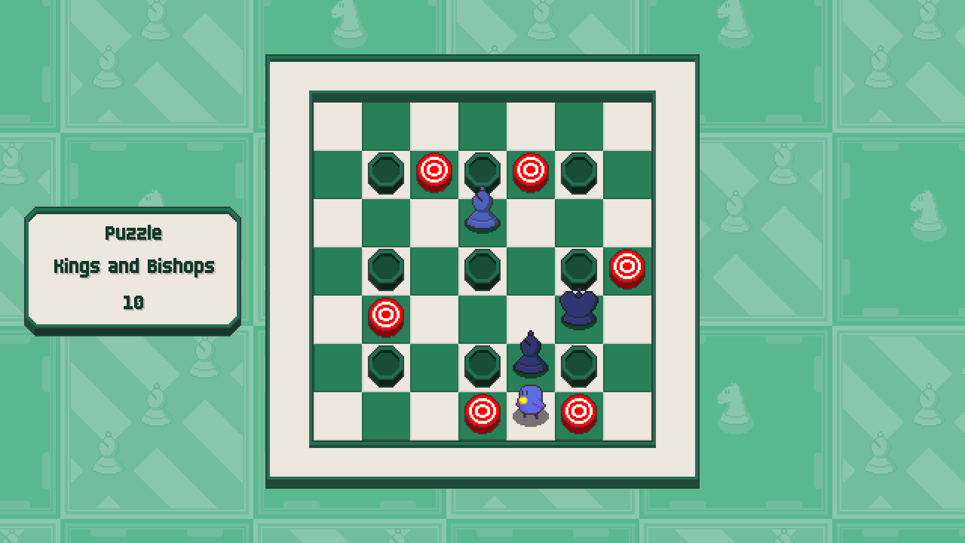 Chessplosion - Puzzle Solution Guide + Achievements Walkthrough - Advanced: Kings and Bishops - A099583