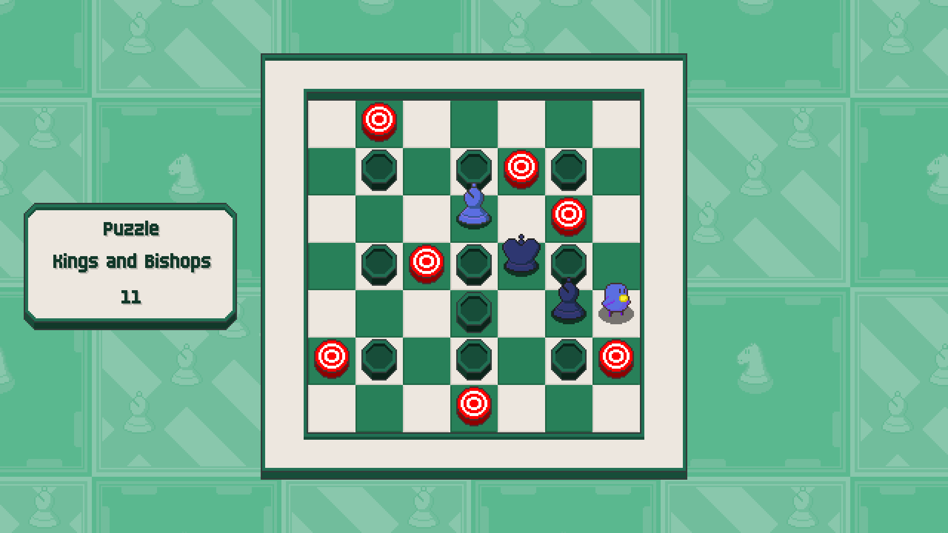 Chessplosion - Puzzle Solution Guide + Achievements Walkthrough - Advanced: Kings and Bishops - A1E2E7F