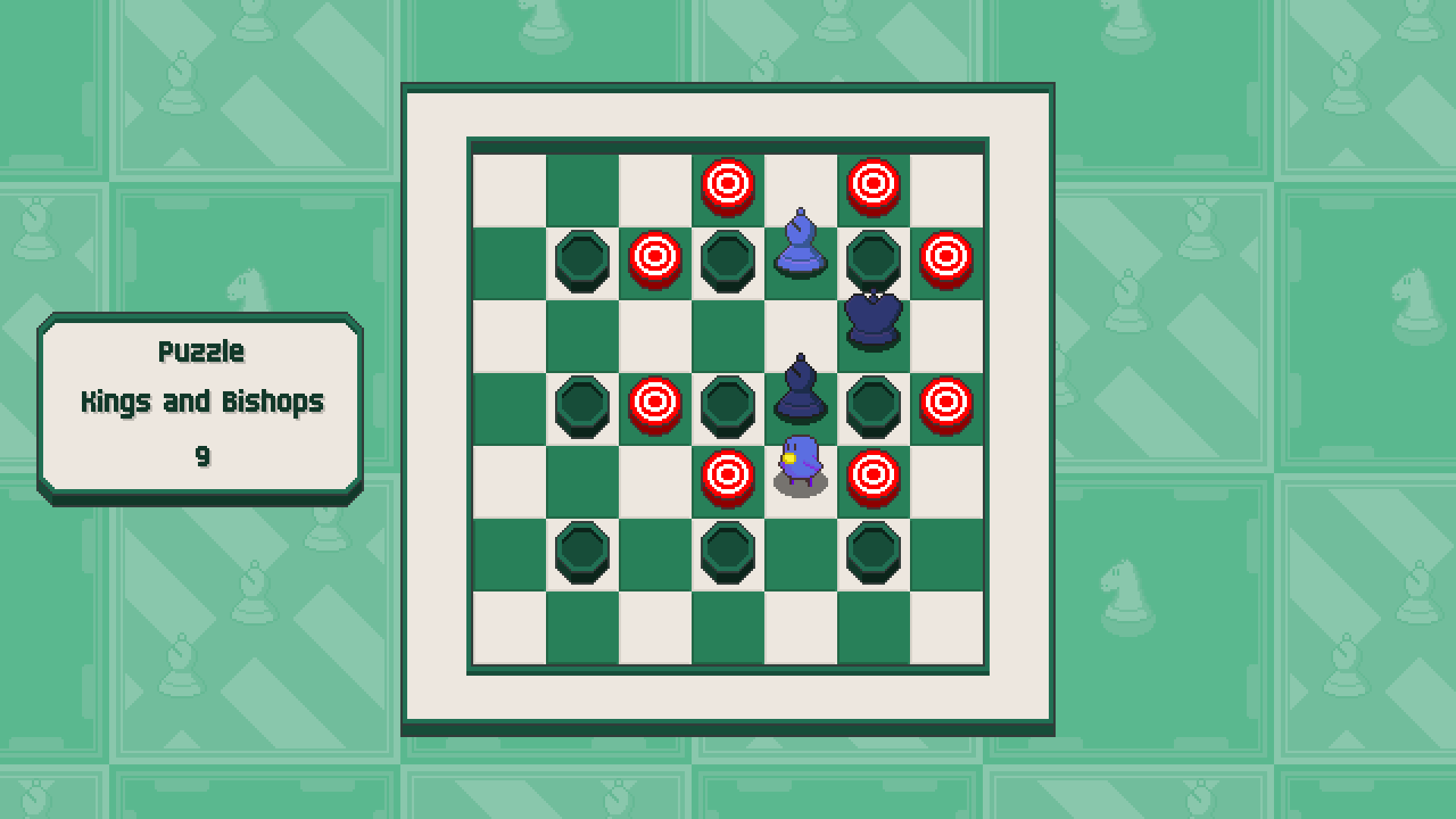 Chessplosion - Puzzle Solution Guide + Achievements Walkthrough - Advanced: Kings and Bishops - B2214F7