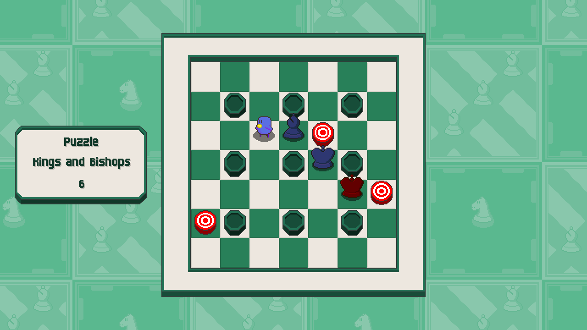 Chessplosion - Puzzle Solution Guide + Achievements Walkthrough - Advanced: Kings and Bishops - D2E11F8