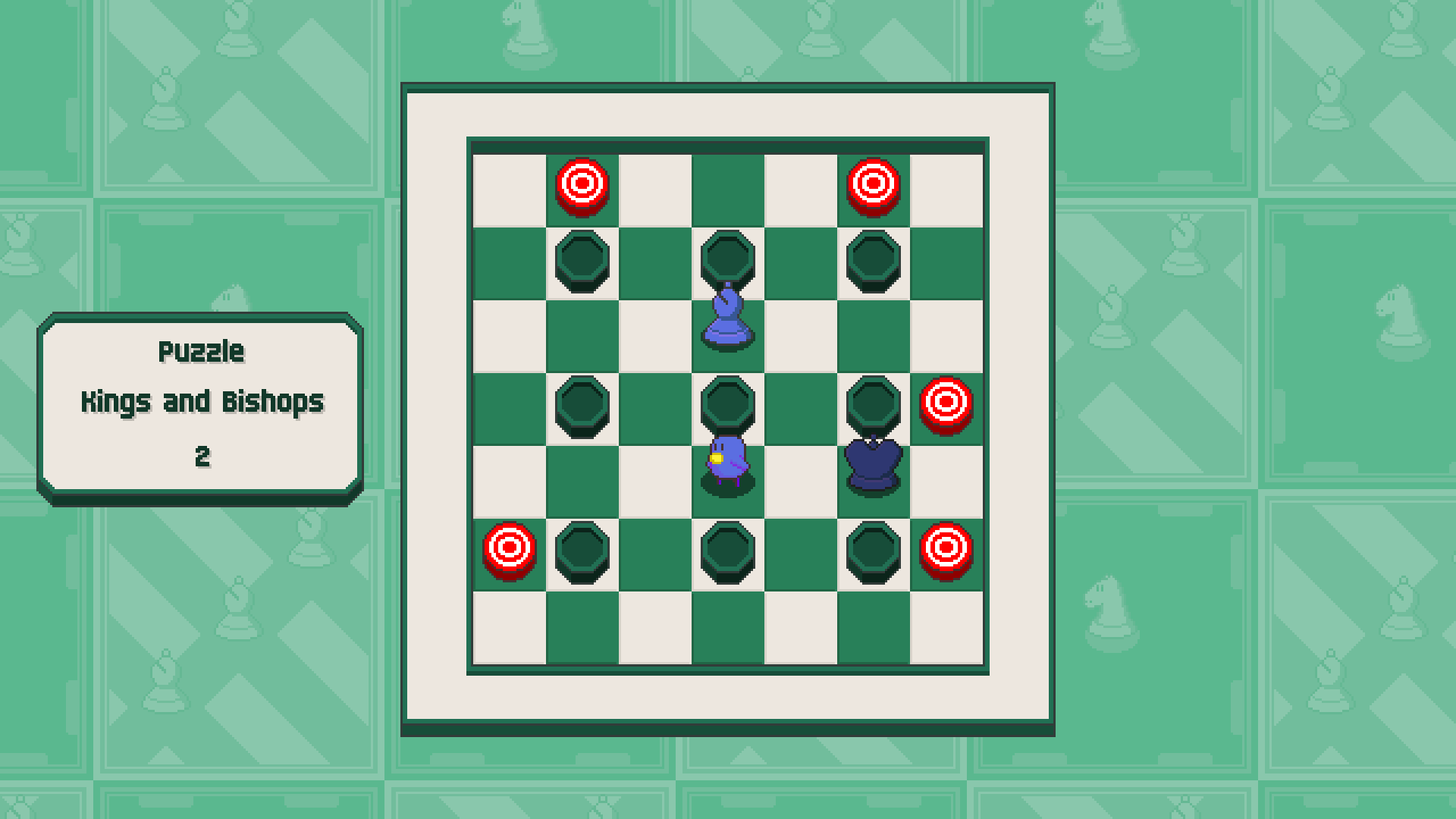Chessplosion - Puzzle Solution Guide + Achievements Walkthrough - Advanced: Kings and Bishops - E3138B7