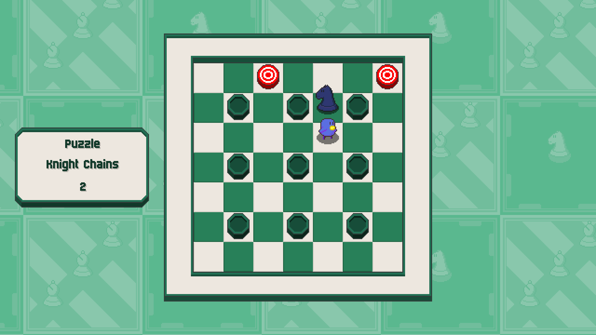 Chessplosion - Puzzle Solution Guide + Achievements Walkthrough - Advanced: Knight Chains - 34BBE04